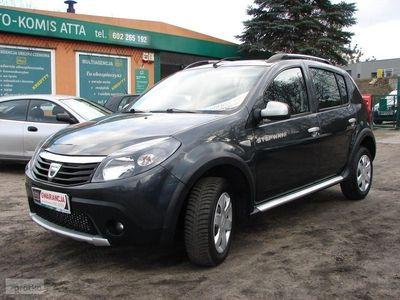 używany Dacia Sandero Stepway 1.5dm3 90KM 2012r. 159 000km 1.5 DCI 90 KM Klimatronik