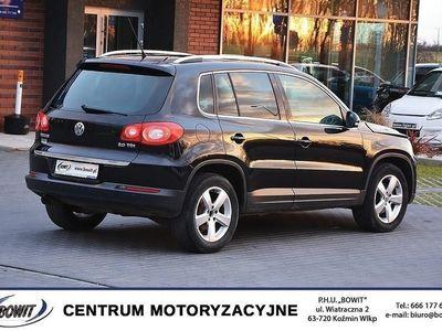używany VW Tiguan 2008r - 2.0 TDI 4MOTION - Klimatyzacja AC, Kożmin Wlkp