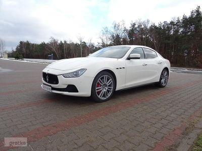 używany Maserati Ghibli Niski przebieg, alufelgi 20', skóra, 3.0 V6 (410KM)