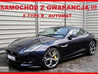 używany Jaguar F-Type R 551 KM + AUTOMAT + 1 Wł + Serwis !!!