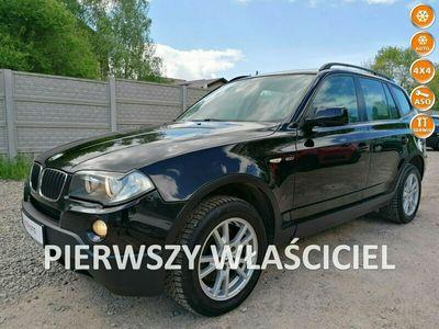 używany BMW X3 2.0 1WŁ 6biegów 4X4 Klima El szyby Alu Stan BDB Bez Rdzy Bezwyp Oplac E83 (2003-2010)