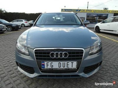 używany Audi A4 IV (B8) 2,0 diesel 143KM zarejestrowany nawigacja automat blis