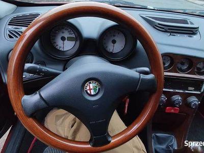 używany Alfa Romeo 156 2.0 TS 155KM 1999 149 tys przebiegu czerwona