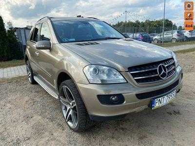używany Mercedes ML320 3dm 225KM 2007r. 321 500km