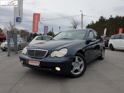 używany Mercedes C200 2dm 163KM 2005r. 230 000km