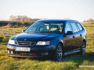 używany Saab 9-3 Sport Combi 1.9 TiD 150 KM 2006 r. stan BDB