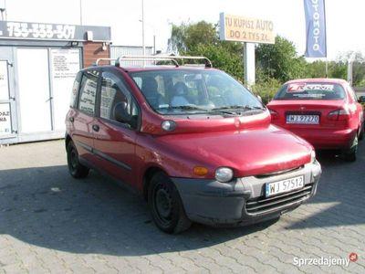 używany Fiat Multipla 1.9dm 110KM 2002r. 256 000km