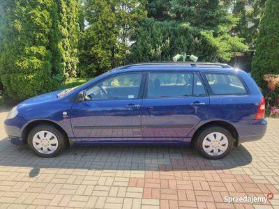 używany Toyota Corolla E12 - 2002 niezawodna benzyna 1.4 VVTi OKAZJA
