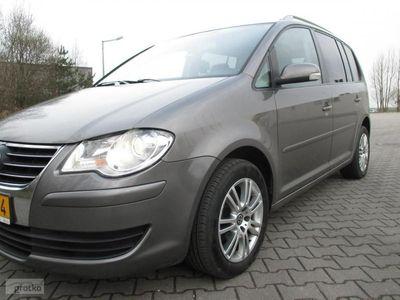 używany VW Touran 2.0dm3 2009r. 171 000km oszczędny diesel -raty bez banku ABS automatyczna klima.