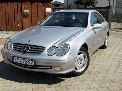 używany Mercedes CLK200 1.8dm 143KM 2004r. 145 000km