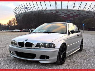 używany BMW 318 E46 COUPE Mpakiet, Felgi 17 z F10, Carbon