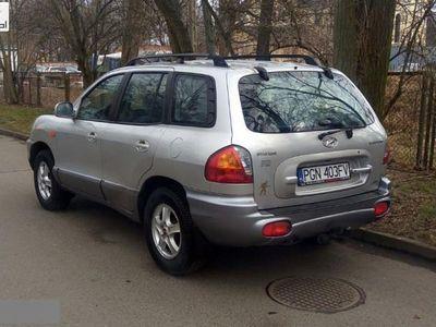brugt Hyundai Santa Fe 2,0CRDi 2003 r. 4x4 1.9 2,0CRDi 2003 r. 4x4 ręczna klima.