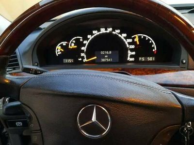 używany Mercedes S320 w220224KM 2001r LPG