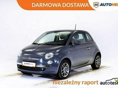 używany Fiat 500 DARMOWA DOSTAWA PDC, Klima.auto, Multifunkcja, Historia serwis