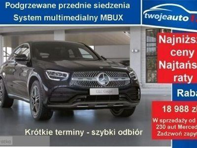 używany Mercedes 220 4MATIC Coupé, AMG, THERMATIC, Podgrzewane siedzenia+LEDY