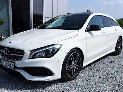 używany Mercedes CLA200 Inny 1.6dm3 156KM 2017r. 15 000km2017r. 15 tys. km. AMG x2, Night, PL Salon, gwarancja, FV23%