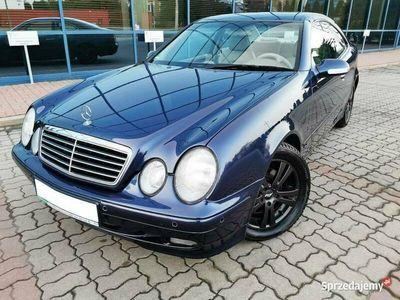 używany Mercedes CLK320 218 KM ELEGANCE * automat * serwisowany * bez rdzy * Wa-wa W208 (1997-2002)