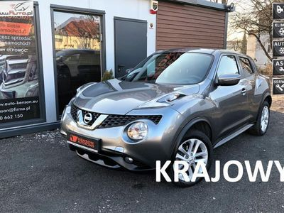 used Nissan Juke 1.2dm3 116KM 2015r. 56 750km Salon PL, 1-właś. Bezwypadkowy, Serwis ASO, FV23% 56750 Km.