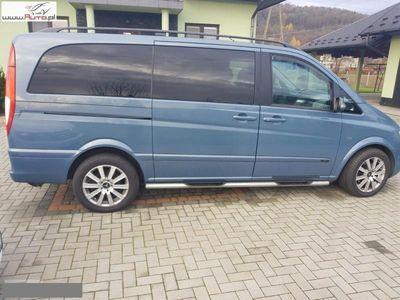 used Mercedes Viano 3dm3 204KM 2007r. 218 800km 3.0 204 KM 6 osobowy Automat