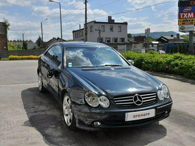 używany Mercedes CLK270 2.7dm 163KM 2003r. 258 104km