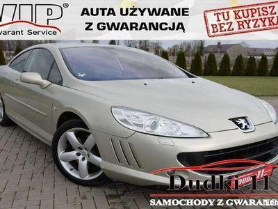używany Peugeot 407 Coupe 3,0b DUDKI11 Skóry,Serwis,Navi, Parktronic,opłacony,GWARANCJA, Kutno