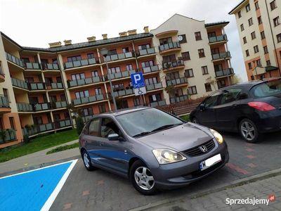 używany Honda Civic VII#1.4#BENZYNA#2004R#KLIMA#5DRZWI#ORYGINAŁ!