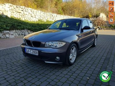 używany BMW 120 2dm 130KM 2005r. 188 000km