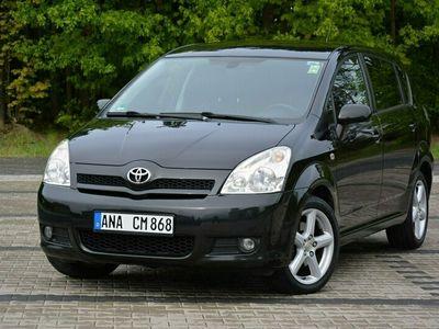 używany Toyota Corolla Verso III *1.8 VVT i(129KM)*Sol*Oryginał*7-Foteli*2xParktronic*Alu17