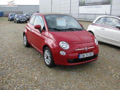 używany Fiat 500 1.4dm3 100KM 2011r. 62 500km Cabrio 1.4L 100KM