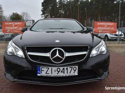 używany Mercedes E350 3dm 258KM 2014r. 107 328km