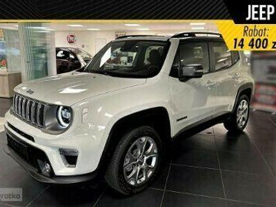 """używany Jeep Renegade Face lifting Limited 1.0 Turbo 120KM 18"""" felgi aluminiowe+ Czarny Dach+ Opcje"""