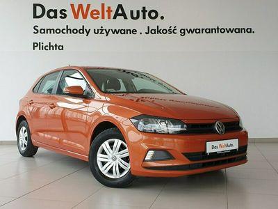 używany VW Polo 1.0 MPI 75 KM Trendline, Salon Polska, 1 Właściciel, FV VAT 23% VI (2017-)