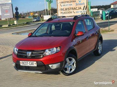 używany Dacia Sandero II Gwarancja Tech, Stepway, Benzyna - 90 KM, 1-szy Właściciel