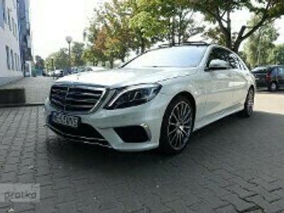 używany Mercedes 500 Klasa S W222Long 4 Maic Pakiet AMG