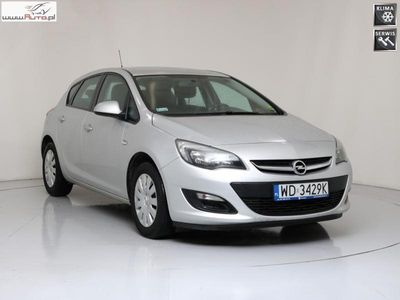 używany Opel Astra 1.6dm3 110KM 2015r. 91 389km WD3429K ! Enjoy ! Serwisowany ! Pakiet flotowy 2 !