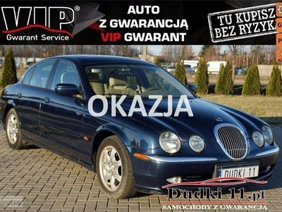 używany Jaguar S-Type 3.0 3,0b DUDKI 11 aut,klimatr,temp,elektr,radio CD,parktr,alu,GWARANCJA automatyczna klima.