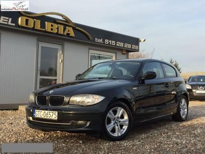 używany BMW 118 seria 1 2dm3 143KM 2010r. 257 650km d 143KM Klima Serwis Zadbana!