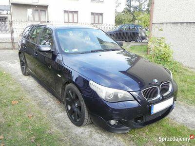 używany BMW 530 E61 SERIA 5 D #Fabryczny M pakiet #Carbonschwarz #Sha