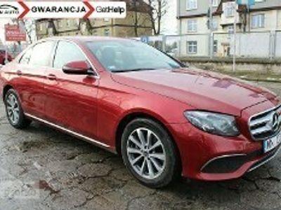 używany Mercedes E220 Klasa220CDI 194 KM 4Matic Salon Polska Zarejestrowany