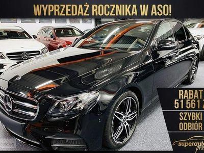 używany Mercedes 200 Klasa E W213 AMG 2.04MATIC (197KM) | AMG + Premium + Night | Wyprzedaż 2019!, Chorzów