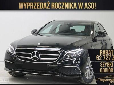 używany Mercedes 200 Klasa E W213 1.6(160KM) | AVANTGARDE + Advantage | Wyprzedaż rocznika 2019!, Chorzów