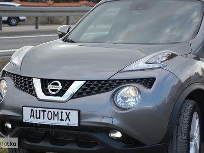 używany Nissan Juke 1.2 Turbo Benzyna nawi kamera cofania LED gwarancja przebiegu półskó