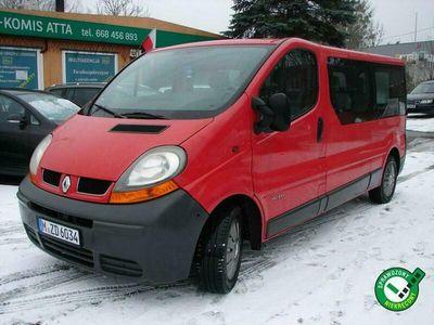używany Renault Trafic 1.9 DCI 100 KM Klima II (2001-2014)