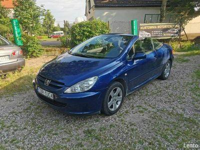 używany Peugeot 307 CC 2dm 136KM 2004r. 184 000km