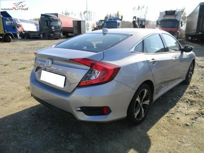 brugt Honda Civic Civic 1.5dm3 182KM 2017r. 4 286km1.5 Elegance FV 23%, Gwarancja!!