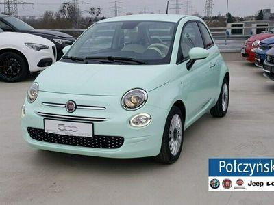 używany Fiat 500 1,0 Hybrid 70 KM | Lounge | Pak.City |Zielony Lattementa |2021