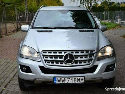 używany Mercedes ML320 Zadbany/ Automat/ Nawigacja/ Zarejestrowany/ Tanio/ Okazja/ Polecam W164 (2005-)