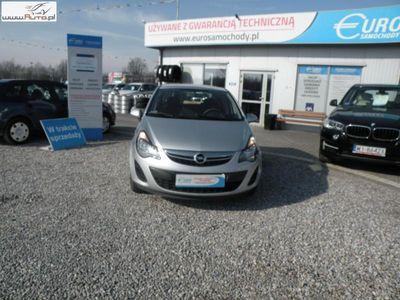 used Opel Corsa 1.2dm3 80KM 2014r. 122 000km F-Vat,Gwar,Sal.PL,Fab LPG