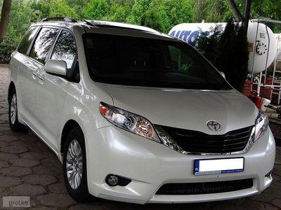 używany Toyota Sienna III *Gwarancja*Biała Perła*XLE*DVD*