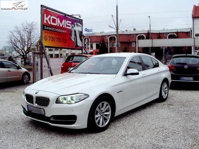 używany BMW 520 2dm3 190KM 2015r. 89 600km 190KM, xDrive, Navi, Salon RP,serwis ASO, F-VAT 23%, 5 lat gwarancji.